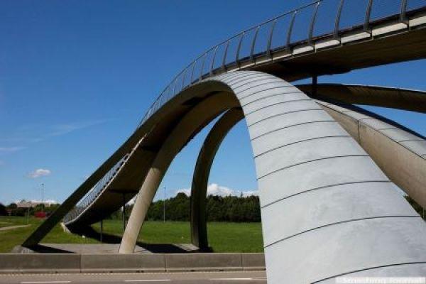 Leonardo da Vinci's bridge, Norway_2