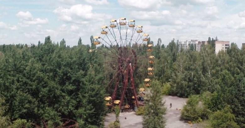 Drone chernobyl