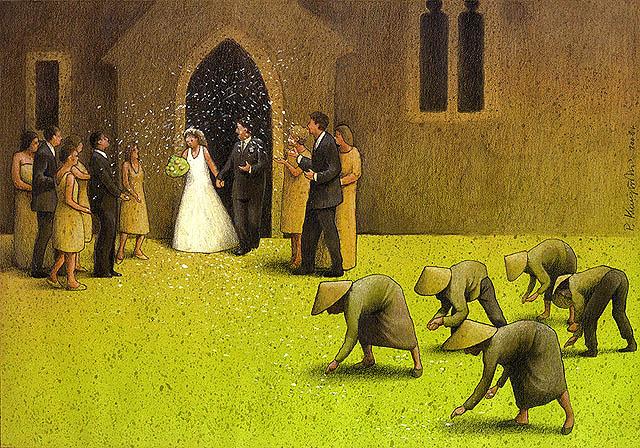 Pawel Kuczynski wedding