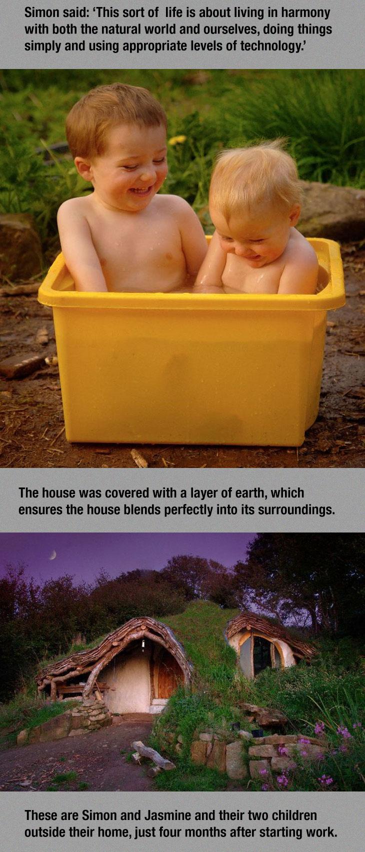 cool-Hobbit-house-happy-kids