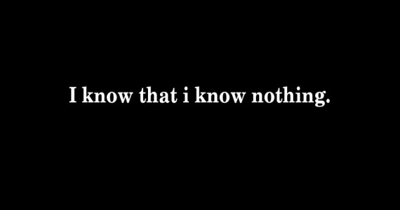 I know that i know nothing_GB