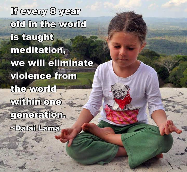 Schools Should Teach Meditation To Improve The World