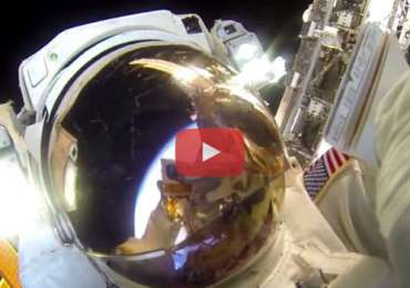 NASA selfie GOPRO