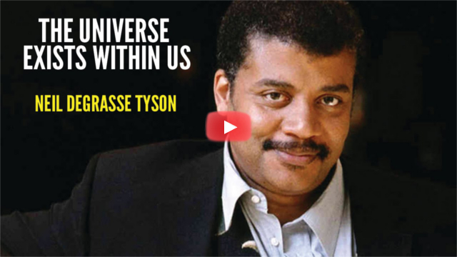 the universe is us