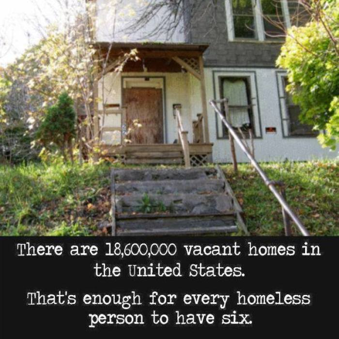vacant homes in usa