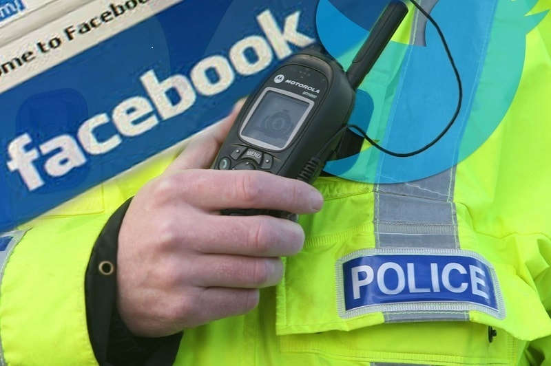police use facebook