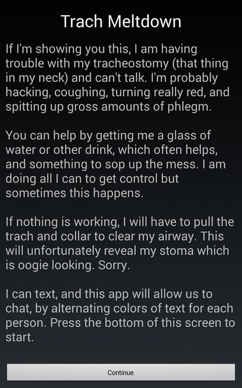 autistic man created this app