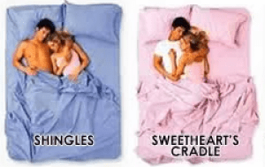 couples sleeping position