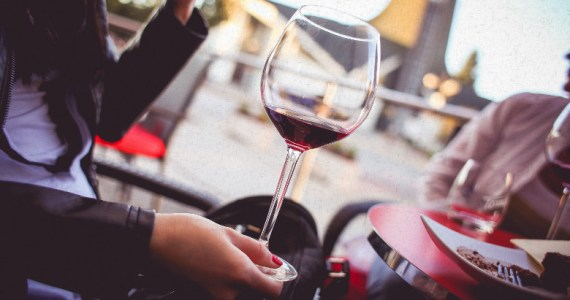 A Glass Of Red Wine Can Replace An Hour Of Exercising According To New Study.