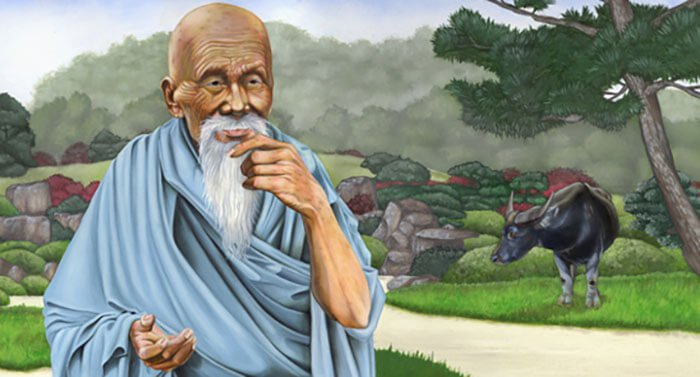 Lao Tzu means 'Old Master,' and he was believed by some to be a God-realised being.