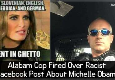 Alabam Cop Fired Over Racist Facebook Post About Michelle Obama
