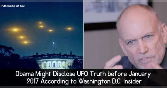 Obama Might Disclose UFO Truth before January 2017 According to Washington D.C. Insider