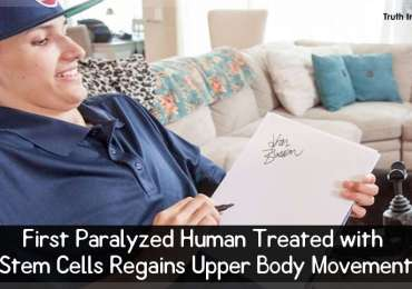 First Paralyzed Human Treated with Stem Cells Regains Upper Body Movement