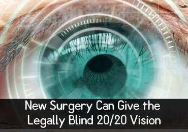 New Surgery Can Give the Legally Blind 20-20 Vision