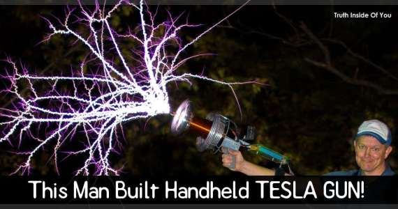 This Man Built Handheld TESLA GUN!