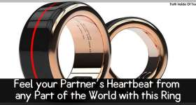Feel your Partner's Heartbeat from any Part of the World with this Ring