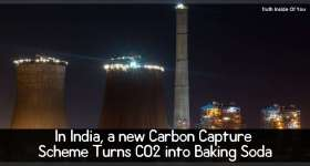 In India, a new Carbon Capture Scheme Turns CO2 into Baking Soda