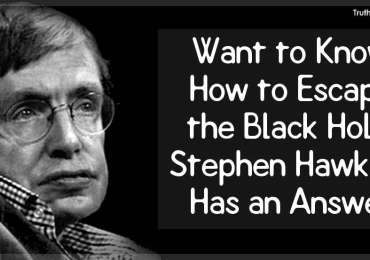 Want to Know How to Escape the Black Hole? Stephen Hawking Has an Answer!