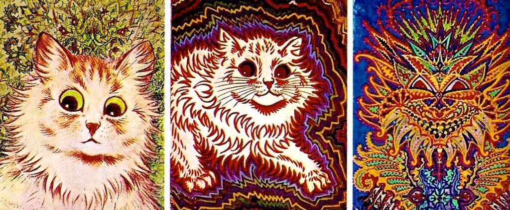 schizophrenic cats