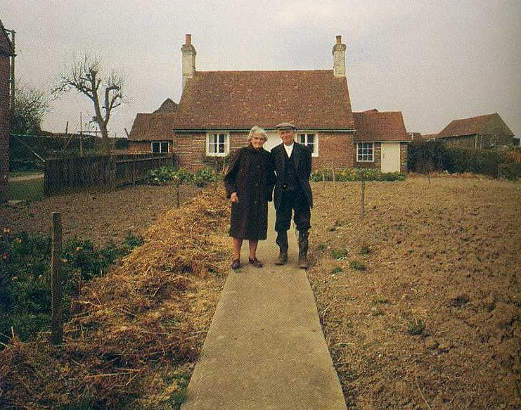 Elderly Couple Takes A Picture-5