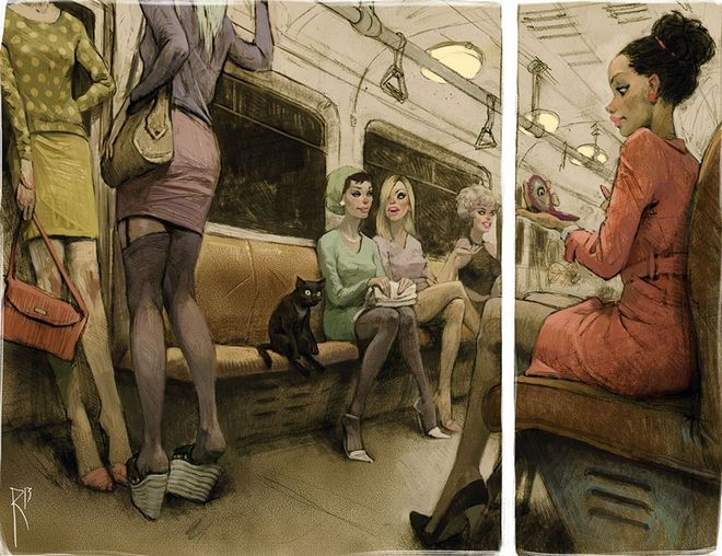 Sexism, Violence, Indifference. The Society Through the Sketches of Waldemar Von Kazak.10
