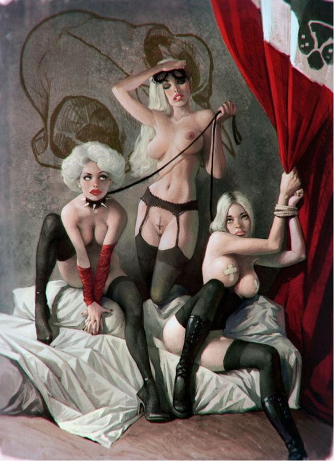 Sexism, Violence, Indifference. The Society Through the Sketches of Waldemar Von Kazak.3