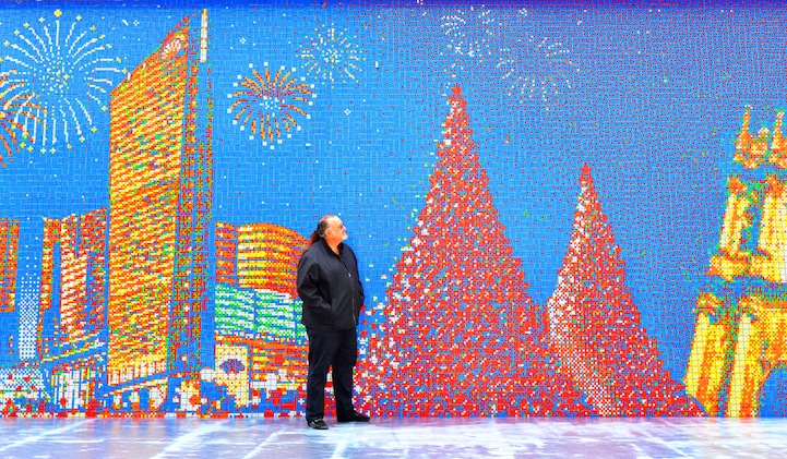 These Artists Twist Thousands of Rubik's Cube a Day to Create Massive Murals.13