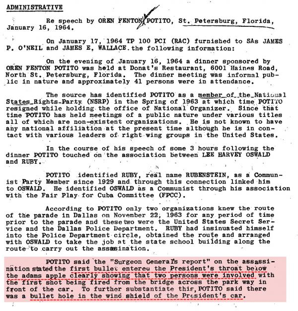 This Single Paragraph from the JFK Assassination Files Changes Everything2