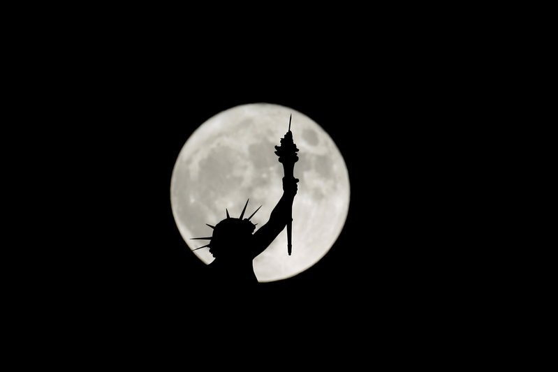 Supermoon 2017 new york
