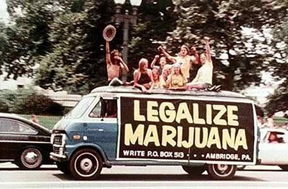 legalize ganja hippies