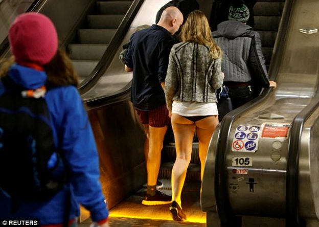 No pants Subway Ride-3