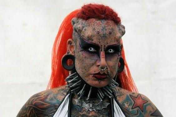 1. Vampire woman