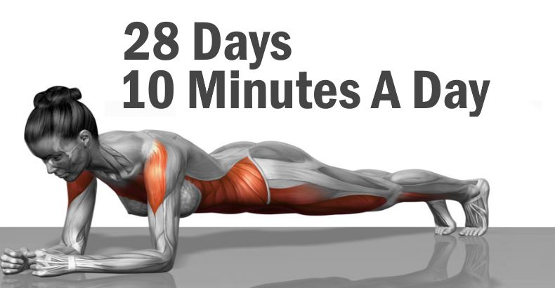 5 Simple Exercise That Will Transform Your Body in Just Four Weeks