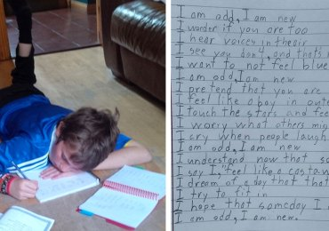 Boy with Autism Writes Poem for Homework, Perfectly Describes What It's like to Live with Autism