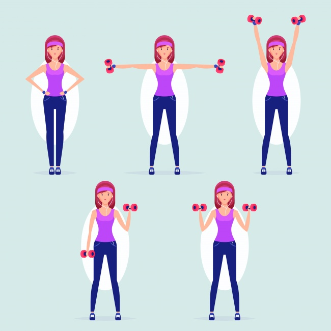 4. Use dumbbells to prevent the onslaught of arthritis