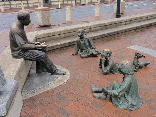 28. The Sculpture Group, Annapolis ,USA.