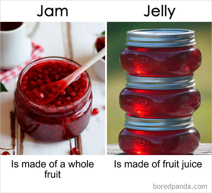 12. Jam vs Jelly