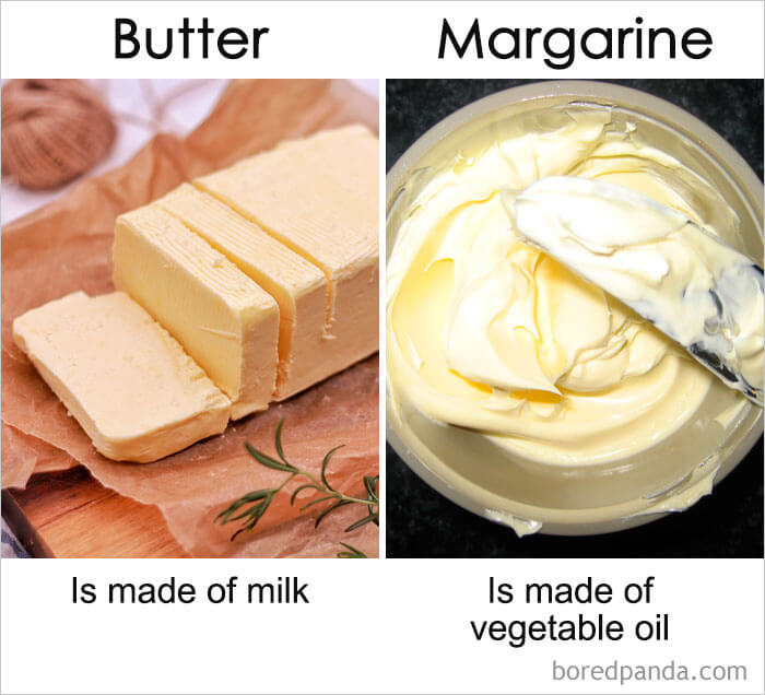 19. Butter vs Margarine