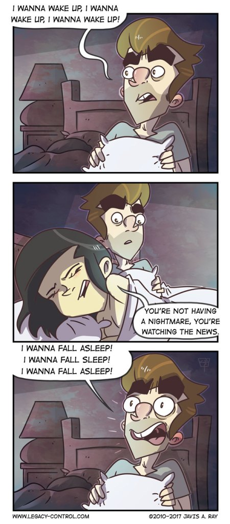 Artist Illustrates Private Life With His Wife And It's Way Too Hilarious-13