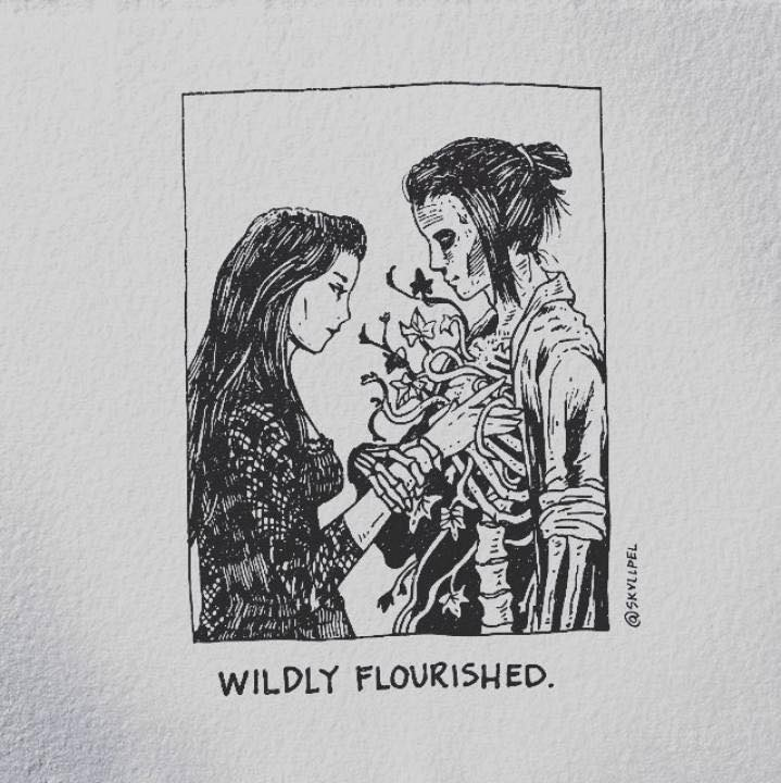 Artist's Skeletal Illustrations Show The Glimpse Of Intense Love With Beautiful Messages-26