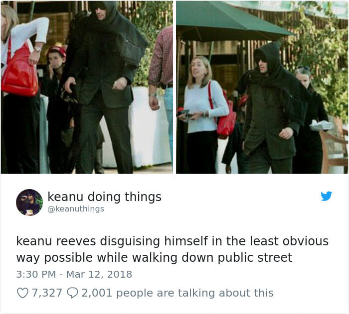We Couldn't Stop Laughing When We Saw These 26 Hilarious Pictures Of Keanu Reeves (17)