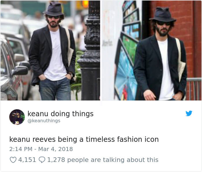 We Couldn't Stop Laughing When We Saw These 26 Hilarious Pictures Of Keanu Reeves (21)
