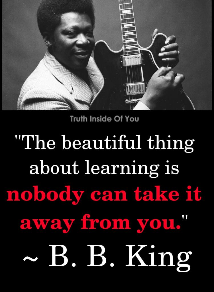 16. B. B. King