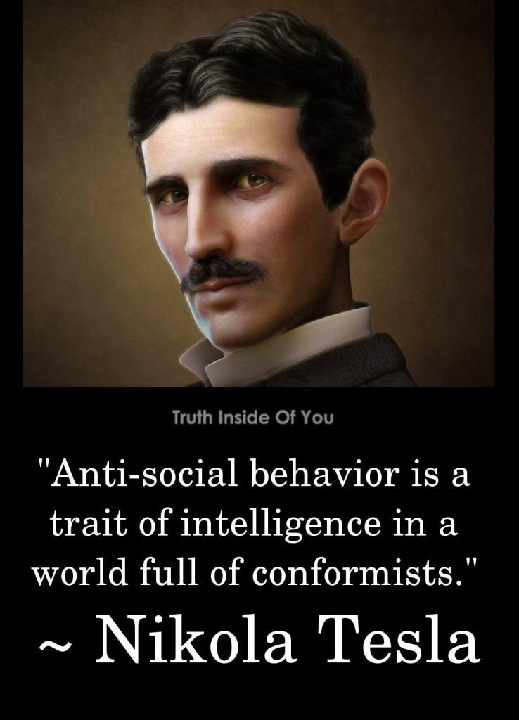 2. Nikola Tesla.