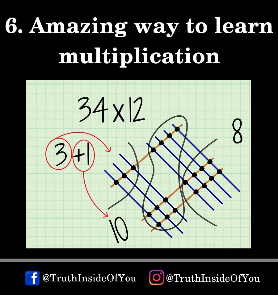 6. Amazing way to learn multiplication