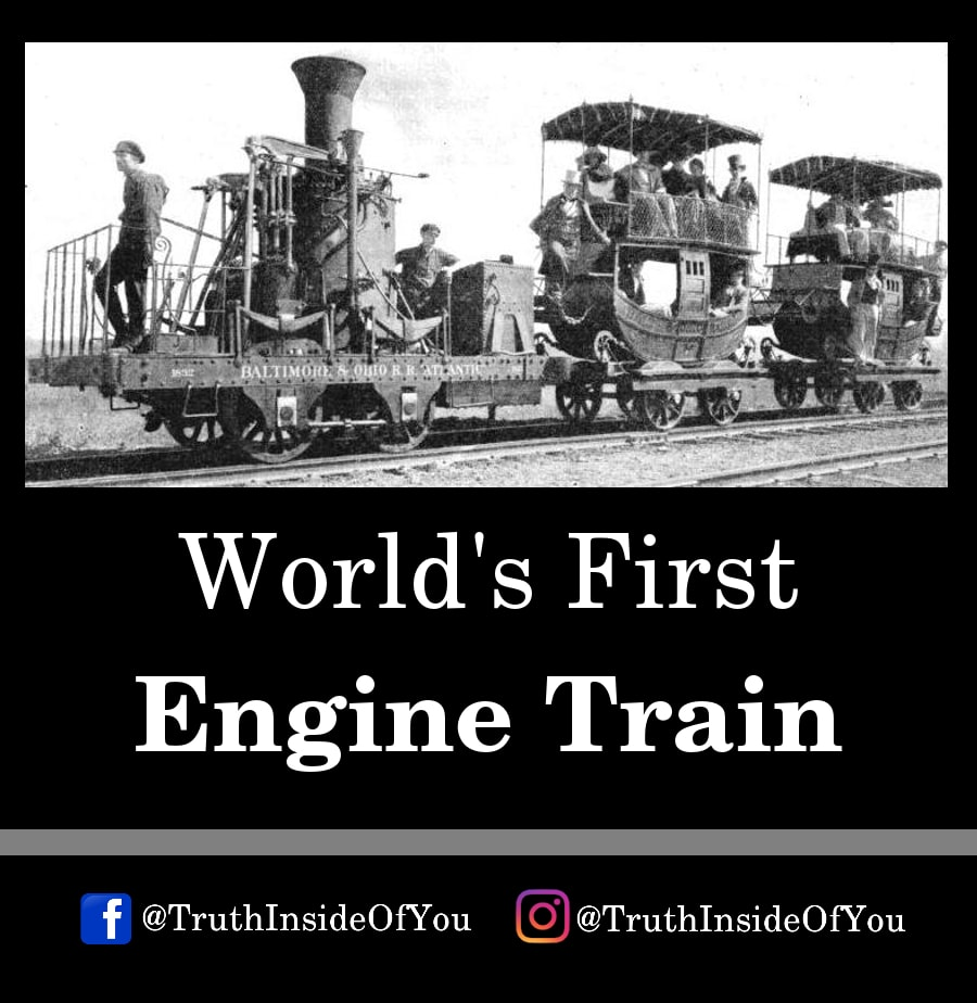 9. World's First Engine Train