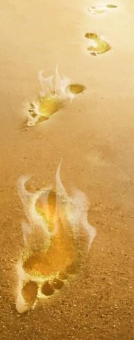 Blazing Footprints