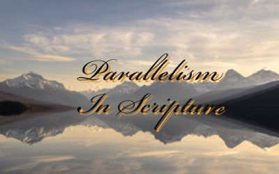 Parallelism In Scripture