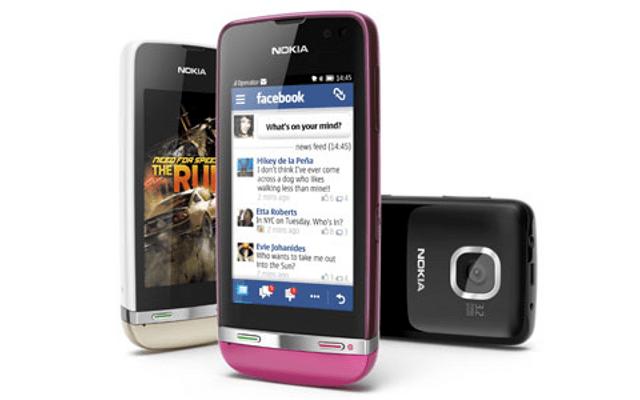 Nokia Asha Touch, Asha feature phones, Nokia featurephones