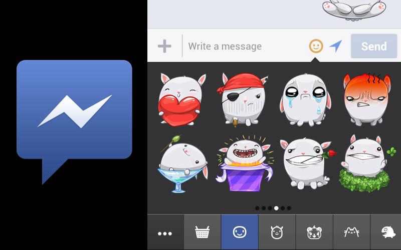 Facebook Messenger, Messenger stickers, FB messaging